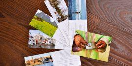 Postales y señaladores