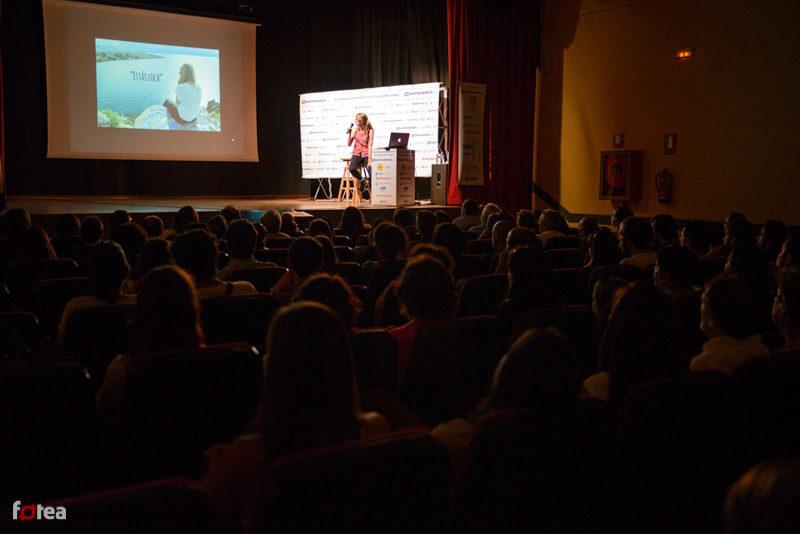 Oradora en la Jornada de los Grandes Viajes de Madrid
