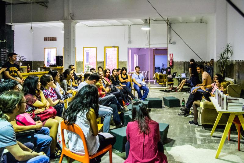 """Presentación de """"Días de viaje"""" en Barcelona"""