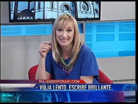 """En el programa """"Viajeros de acá y del mundo"""", con Karin Cohen (Argentina)"""