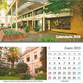 Calendario institucional para el Hospital Alemán (Argentina, 2013 y 2014)